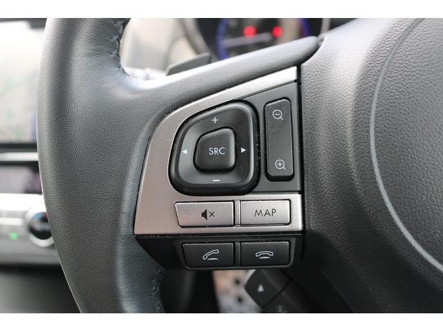 ハンドルから手を離さずAVのコントロールが出来るステアリングスイッチ