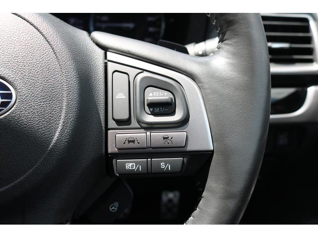 アイサイトと連動で前車に追従機能付クルーズコントロール 高速渋滞路など運転手の疲れを軽減します。