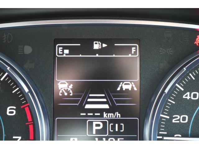 追従時の車間距離は手元スイッチで3段階に調整可能!
