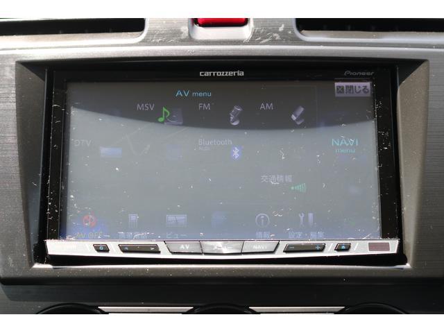 AV選択画面TVやチューナーBluetoothも使用可能