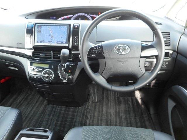 トヨタ エスティマ アエラス プレミアムED HDDナビ カメラ 両側電動Sドア