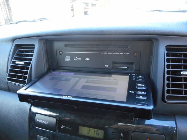 トヨタ カローラフィールダー S リミテッド 新品ワンセグSDナビ エアロ HID ETC