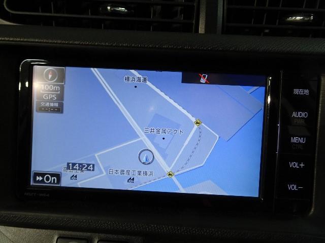 トヨタ アクア S メモリーナビ フルセグ バックモニター