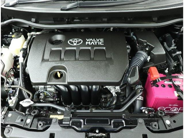 ☆吸気バルブリフト量を連続的に変化させ低燃費に貢献してくれるバルブマチックエンジン搭載です!