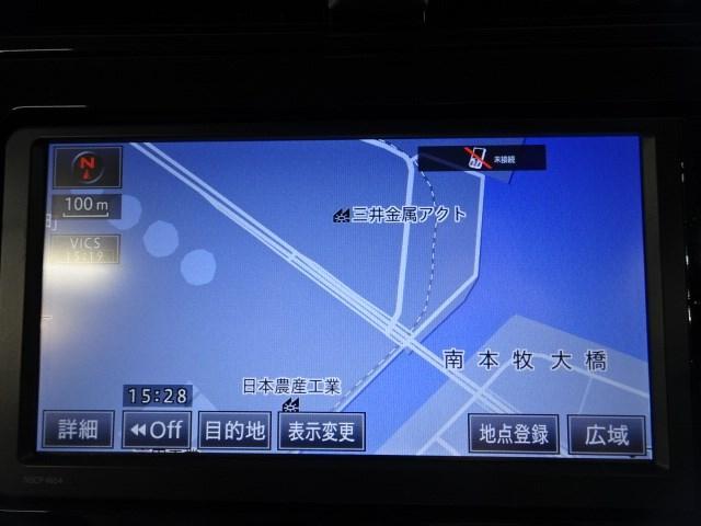SDナビ付きだから遠いところへのお出かけや初めての道でも安心です。 道順を調べなくても目的地に楽々到着できます。TVチューナーはワンセグになります。