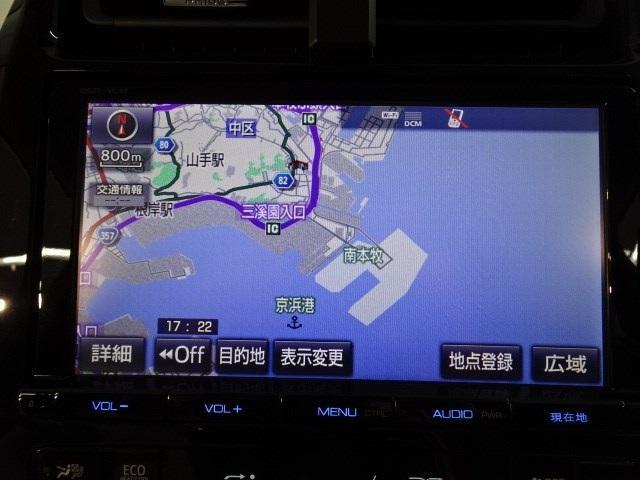 A 衝突軽減・9インチSDナビ・フルセグTV・バックカメラ・ETC・ドライブレコーダー・スマートキー・LEDヘッドライト・走行17000KM(6枚目)