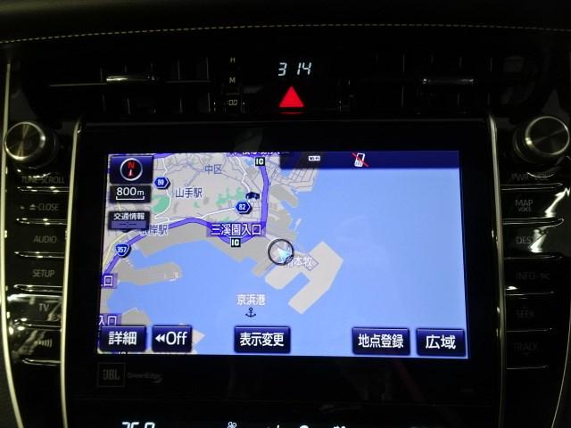 プログレス メタル アンド レザーパッケージ 後期型・衝突軽減・サンルーフ・フルエアロ・メーカー装着SDナビ・フルセグTV・バックカメラ・ETC・クルーズコントロール・スマートキー・LEDヘッドライト・(6枚目)