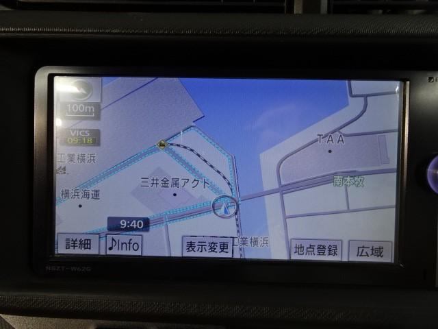 トヨタ アクア G ナビ 地デジ バックカメラ
