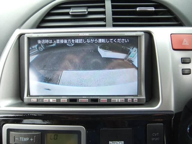 駐車も安心のバックカメラ付です。