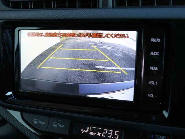 トヨタ アクア G スマートキーSDナビBモニターETCワンオーナー