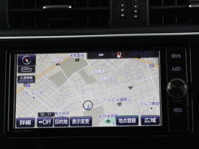 ハイブリッド SDナビ フルセグ ETC Bモニター LEDヘッドライト モデリスタサイドスカート スマートキー Bluetooth ハーフレザーS 純正アルミホイール イモビライザー ワンオーナー 点検記録簿(6枚目)