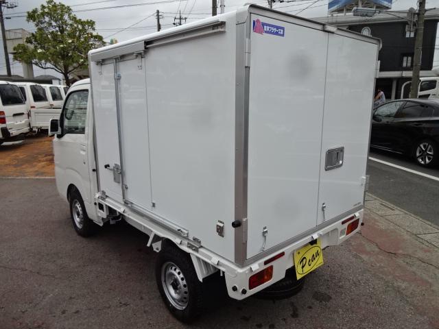ダイハツ ハイゼットトラック 強温冷凍車 4WD-25℃設定 省力パック 4枚リーフ AT
