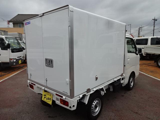 ダイハツ ハイゼットトラック 強温冷凍車-25℃ エクストラ4枚リーフ 2コンプ AT