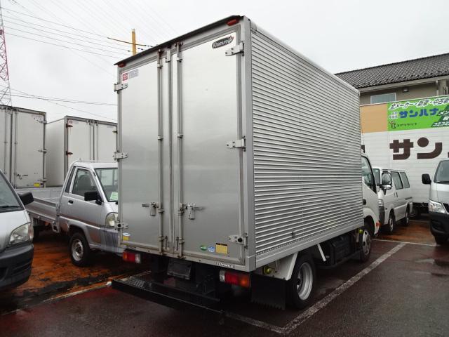 トヨタ トヨエース 2t積10尺アルミバン 4.0Dターボ AT