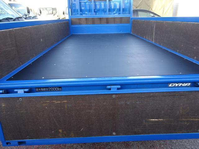 フルジャストロー 2t10尺 4.0DターボAT 木製新品床(2枚目)