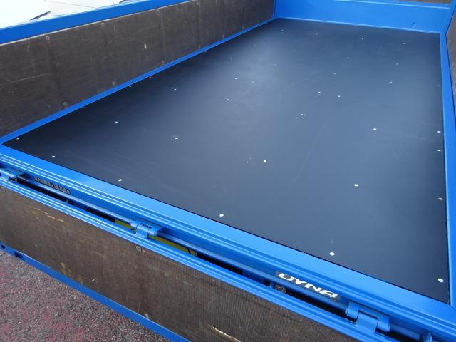 フルジャストロー 2t10尺 4.0DターボAT 木製新品床(6枚目)