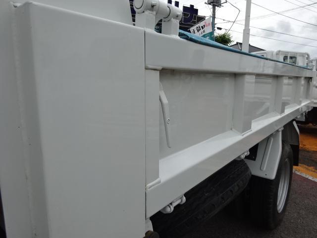 ダンプ 3t積載ダンプ 高床 4ナンバー 3.0Dターボ 6F コボレーン ETC 外装仕上げ車輌(13枚目)