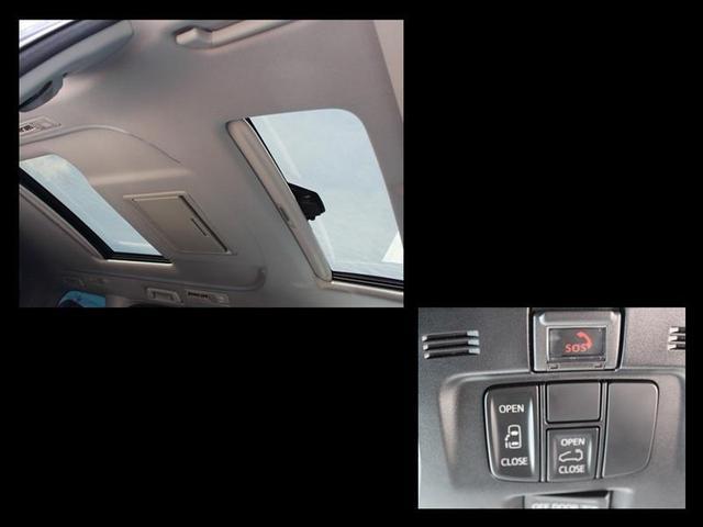 2.5S サンルーフ 後席モニター バックカメラ ドラレコ 衝突被害軽減システム ETC オートクルーズコントロール LEDヘッドランプ 電動スライドドア 乗車定員8人 ワンオーナー 衝突軽減S BT ルーフ(12枚目)