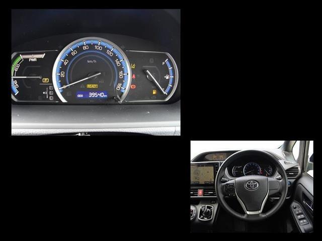 ハイブリッドG トヨタセーフティセンス 純正ナビ 地デジ CD DVD Bluetoothオーディオ バックモニター 後席モニター LEDヘッドライト ドラレコ クルコン スマートキー イモビライザー ワンオーナー(6枚目)