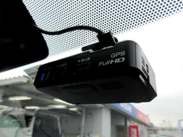 日産純正のドライブレコーダーを装備! カメラが捉えた映像はナビ画面で確認することが可能です
