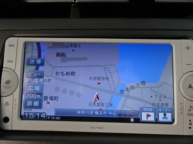 トヨタ プリウス S メモリーナビ・バックカメラ ETC 1オーナー