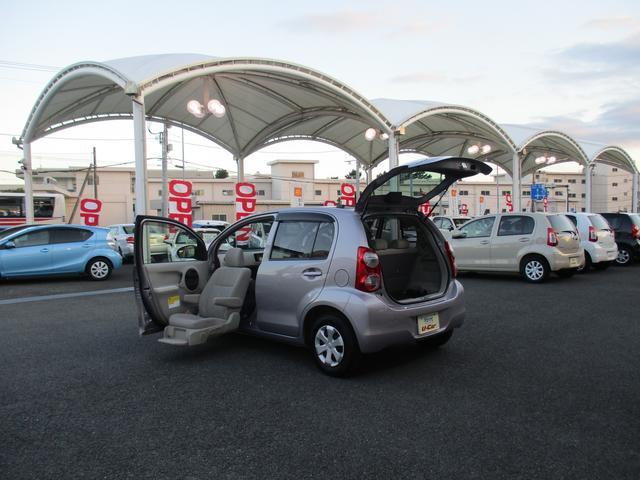 トヨタ パッソ 1.0X 助手席リフトアップシート車 Aタイプ