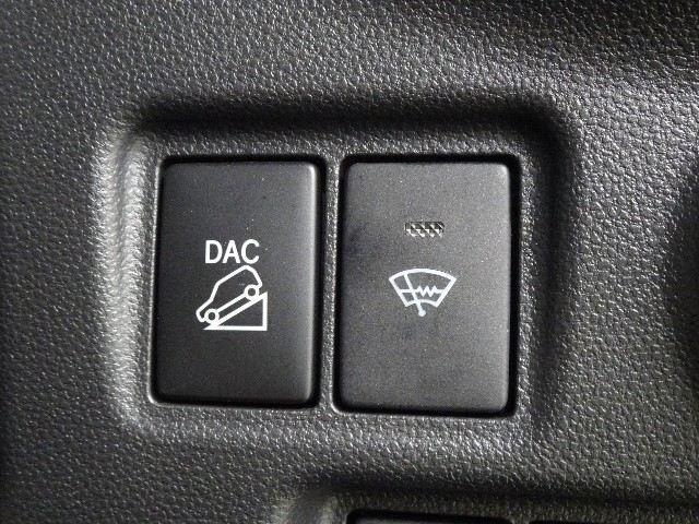 ダウンヒルアシストコントロールを装備しています。