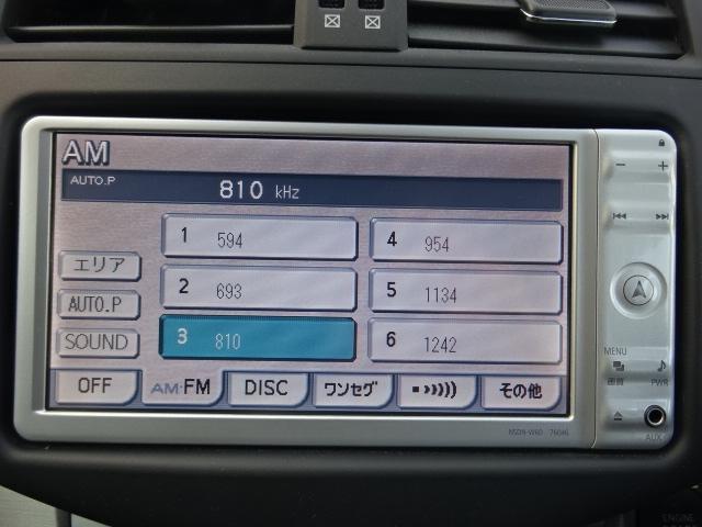 トヨタ ヴァンガード 240S SDナビ地デジDVD再生バックカメラ・分離型ETC