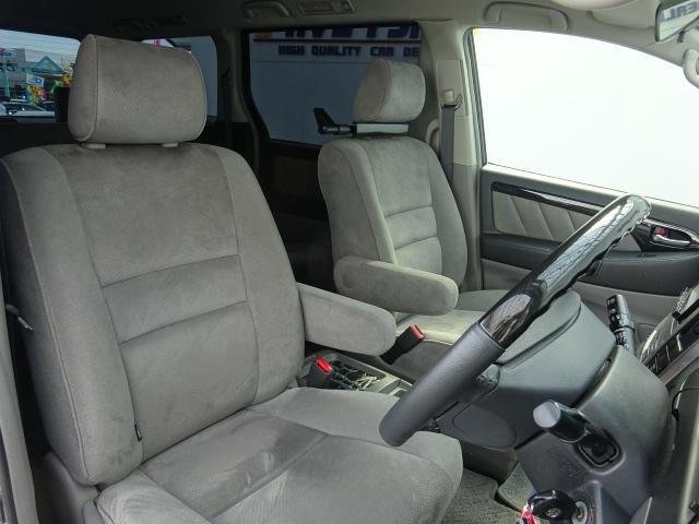 トヨタ アルファードG AS 後期型HDDサイバーナビフルセグBカメラ20AW車高調