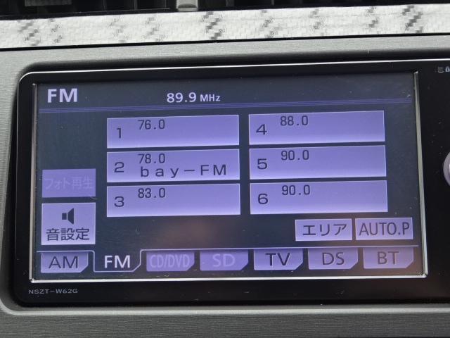 トヨタ プリウス SツーリングSLC・Gs 純正メモリーナビバックカメラETC