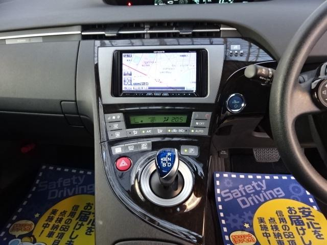 トヨタ プリウス Sマイコーデ HDDサイバーナビバックカメラETC