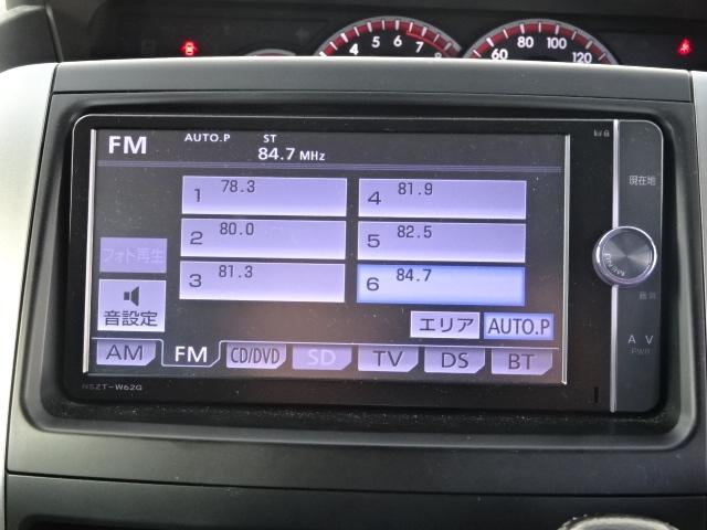 トヨタ ヴォクシー ZS煌II 純正メモリーナビ社外18アルミモデリスタエアロ
