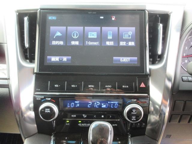 トヨタ ヴェルファイア 25Z G モデリスタエアログリルマフラー10型ツインナビ