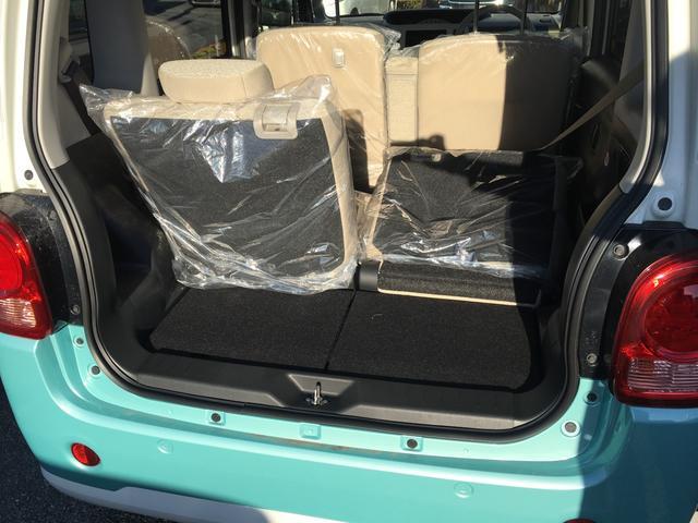 ダイハツ ムーヴキャンバス X 未使用車 アイドリングストップ スマートキー ABS