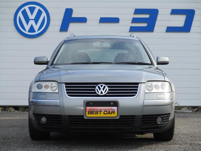 フォルクスワーゲン VW パサートワゴン V6 4MOTION 専門保証付 4WD 右H D車