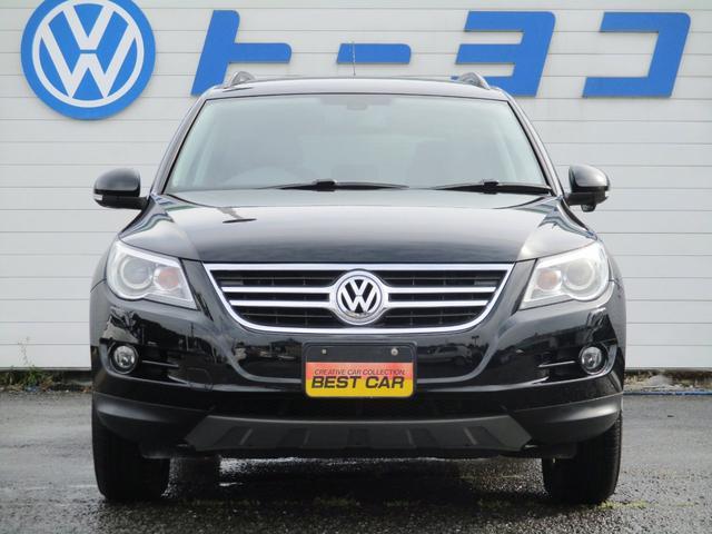 フォルクスワーゲン VW ティグアン トラック&フィールド 専門保証付 ナビTV ワンオーナー