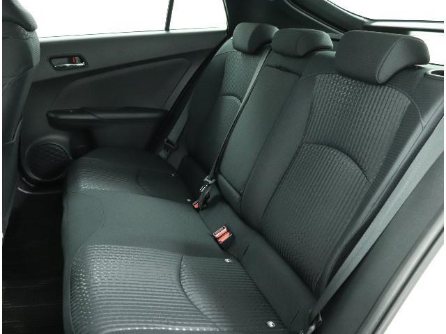 ☆後席もクッション性能の向上などでゆったりとした座り心地を味わえます。