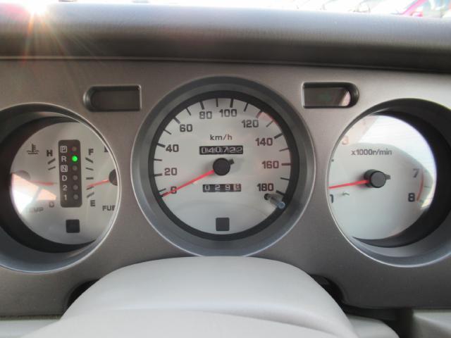 日産 ラシーン ftタイプII 4WD  ル-フレ-ル キ-レス 背面タイヤ