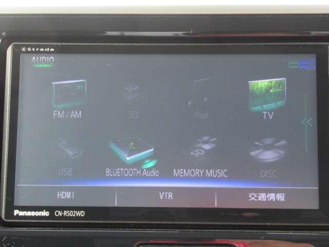 フルセグTV・DVD再生・Bluetooth機能もあります