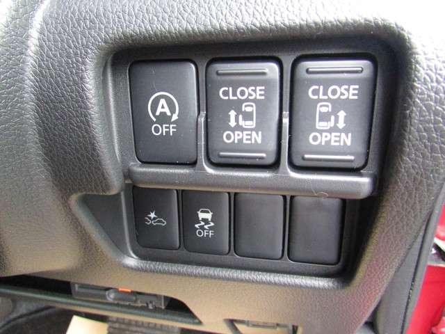 両側電動スライドドア⇒左右どちらからでも乗り降りO,K更に車内からは運転席開閉スイッチで車外からはドアハンドル操作やインテリキーについている開閉ボタンでも開閉◎挟み込み防止機能で更に安心です(^^)/