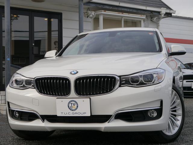 BMW BMW 320iグランツーリスモ ラグジュアリー1オナ黒革 2年保証