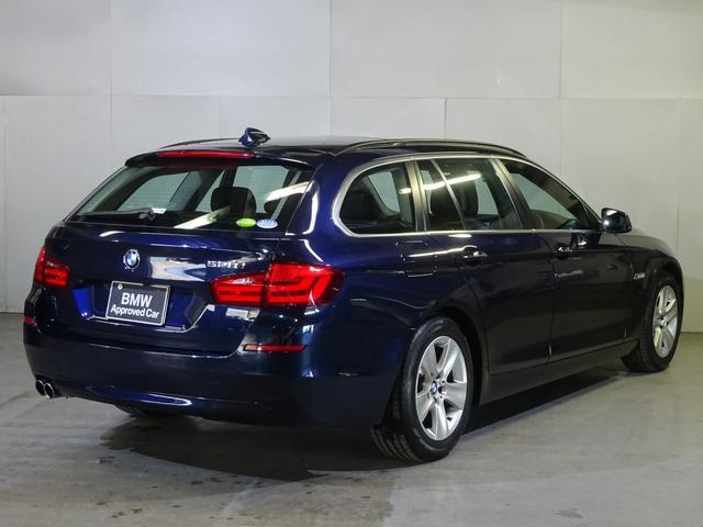 BMW BMW 528iツーリング シルキーシックス ブラックレザー