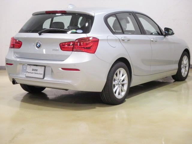118i HDDナビ SOSコール 自動駐車 新車保証継承(3枚目)
