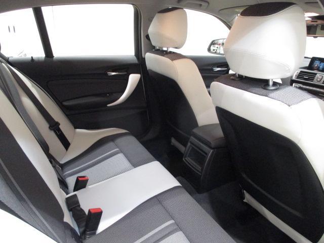 118i HDDナビ SOSコール 自動駐車 新車保証継承(6枚目)