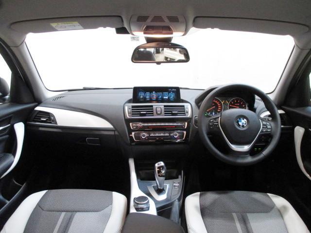 118i HDDナビ SOSコール 自動駐車 新車保証継承(8枚目)