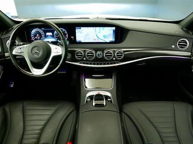 S560 4MATIC ロング AMGライン ショーファーパッケージ 2年保証 新車保証(11枚目)