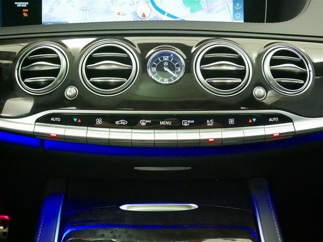 S560 4MATIC ロング AMGライン ショーファーパッケージ 2年保証 新車保証(12枚目)