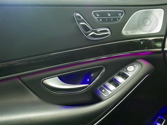 S560 4MATIC ロング AMGライン ショーファーパッケージ 2年保証 新車保証(14枚目)