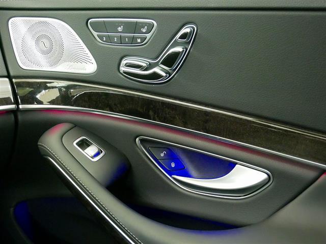 S560 4MATIC ロング AMGライン ショーファーパッケージ 2年保証 新車保証(16枚目)