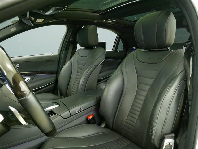 S560 4MATIC ロング AMGライン ショーファーパッケージ 2年保証 新車保証(18枚目)